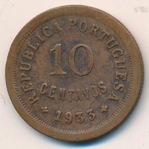 Гвинея-Бисау, 10 сентаво (1933 г.)
