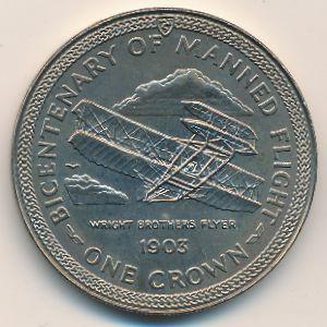 Остров Мэн, 1 крона (1983 г.)