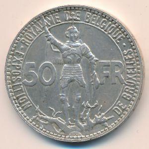Бельгия, 50 франков (1935 г.)