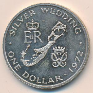 Бермудские острова, 1 доллар (1972 г.)
