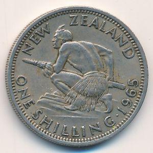 Новая Зеландия, 1 шиллинг (1965 г.)