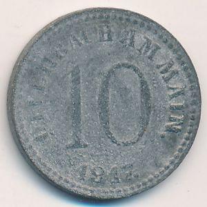Оффенбах., 10 пфеннигов (1917 г.)