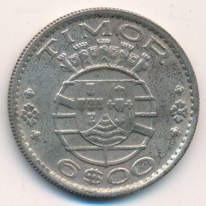 Тимор, 6 эскудо (1958 г.)