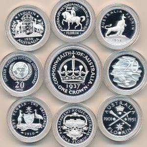 Австралия, Набор монет (1998 г.)