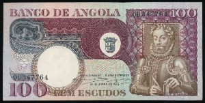 Ангола, 100 эскудо (1973 г.)