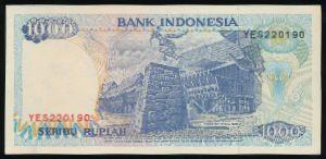 Индонезия, 1000 рупий (1992 г.)