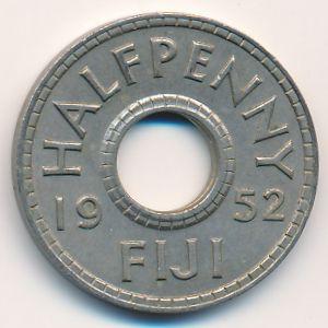 Фиджи, 1/2 пенни (1952 г.)