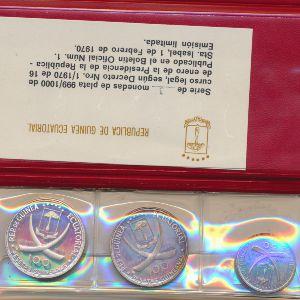 Экваториальная Гвинея, Набор монет (1970 г.)