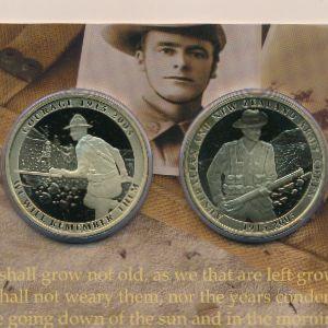 Новая Зеландия, Набор монет (2005 г.)