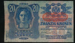 Австрия, 20 крон (1913 г.)