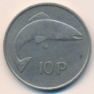Ирландия, 10 пенсов (1976 г.)
