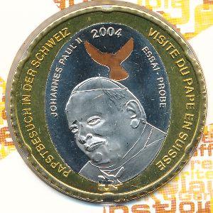 Швейцария, 5 евро (2004 г.)