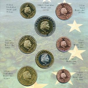 Антильские острова, Набор монет (2004 г.)