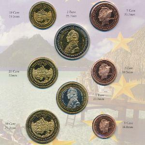 Французская Полинезия, Набор монет (2005 г.)