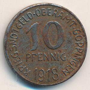 Гёппинген., 10 пфеннигов (1918 г.)