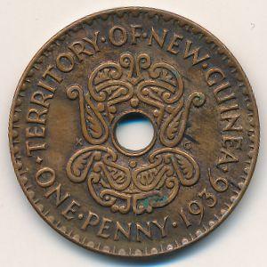 Новая Гвинея, 1 пенни (1936 г.)