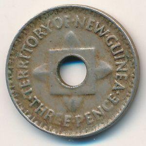Новая Гвинея, 3 пенса (1944 г.)
