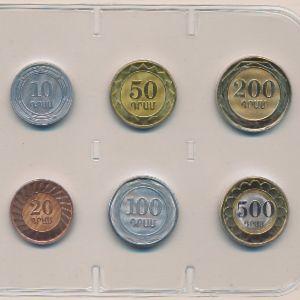 Армения, Набор монет