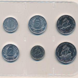 Восточные Карибы, Набор монет