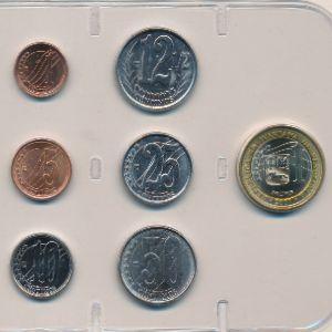 Венесуэла, Набор монет (2007 г.)