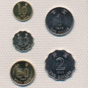 Гонконг, Набор монет