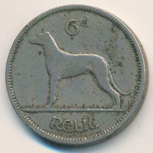 Ирландия, 6 пенсов (1945 г.)