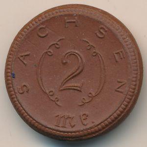 Саксония, 2 марки (1921 г.)