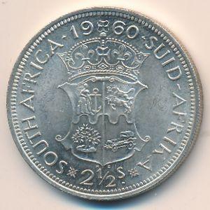 ЮАР, 2 1/2 шиллинга (1960 г.)