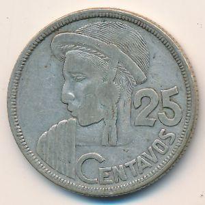 Гватемала, 25 сентаво (1955 г.)