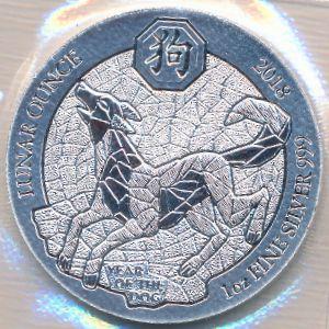 Руанда, 50 франков (2018 г.)
