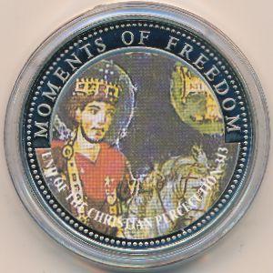 Либерия, 10 долларов (2001 г.)