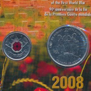 Канада, 25 центов (2008 г.)