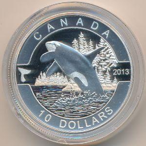 Канада, 10 долларов (2013 г.)