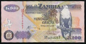Замбия, 100 квача (2010 г.)