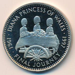 Либерия, 5 долларов (1997 г.)