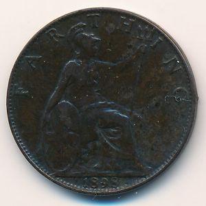 Великобритания, 1 фартинг (1898 г.)