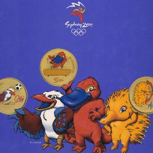 Австралия, Набор монет и медалей (2000 г.)