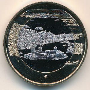 Финляндия, 5 евро (2018 г.)