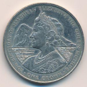Гибралтар, 1 крона (1980 г.)