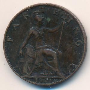 Великобритания, 1 фартинг (1901 г.)