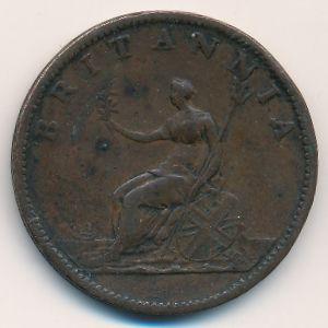 Великобритания, 1/2 пенни (1807 г.)