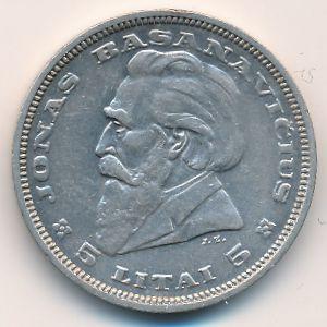 Литва, 5 лит (1936 г.)