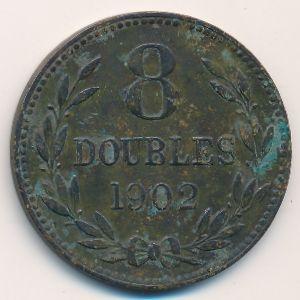 Гернси, 8 дублей (1902 г.)