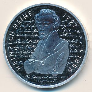 ФРГ, 10 марок (1997 г.)