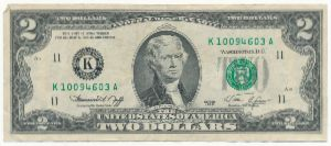 США, 2 доллара (1976 г.)