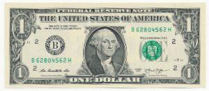 США, 1 доллар (2013 г.)