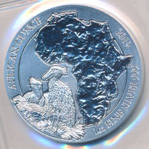 Руанда, 50 франков (2019 г.)