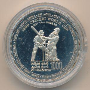 Шри-Ланка, 1000 рупий (1999 г.)
