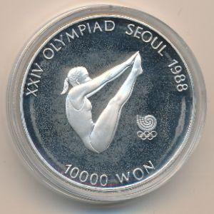 Южная Корея, 10000 вон (1987 г.)
