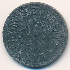 Гунценхаузен., 10 пфеннигов (1917 г.)